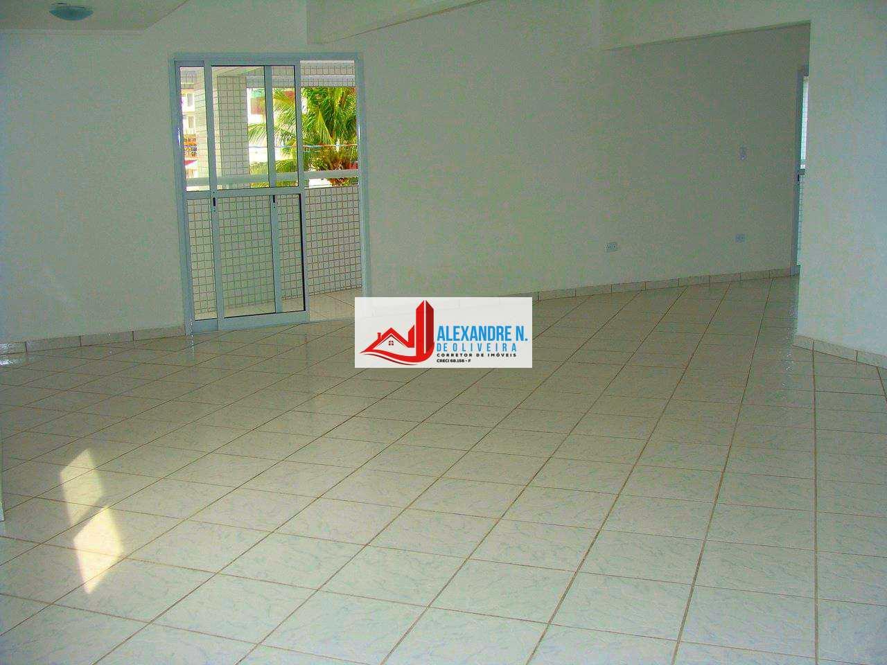 Vista mar, 2 dorms, 2 vagas, Praia Grande, R$ 270 mil, AP00505