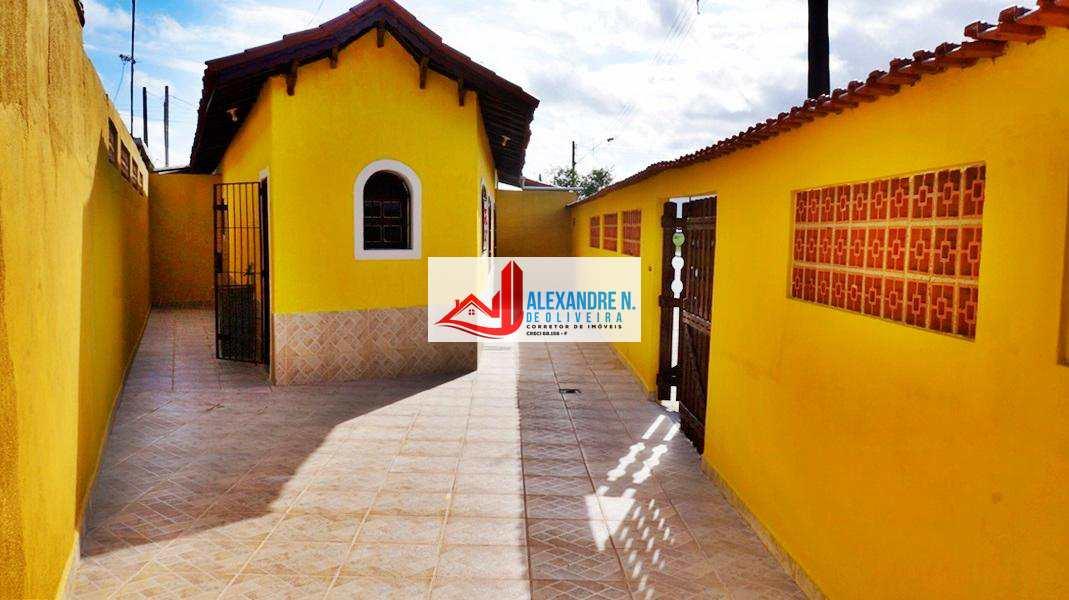 Casa com 1 dorm, Caiçara, Praia Grande - R$ 160 mil, CA00005