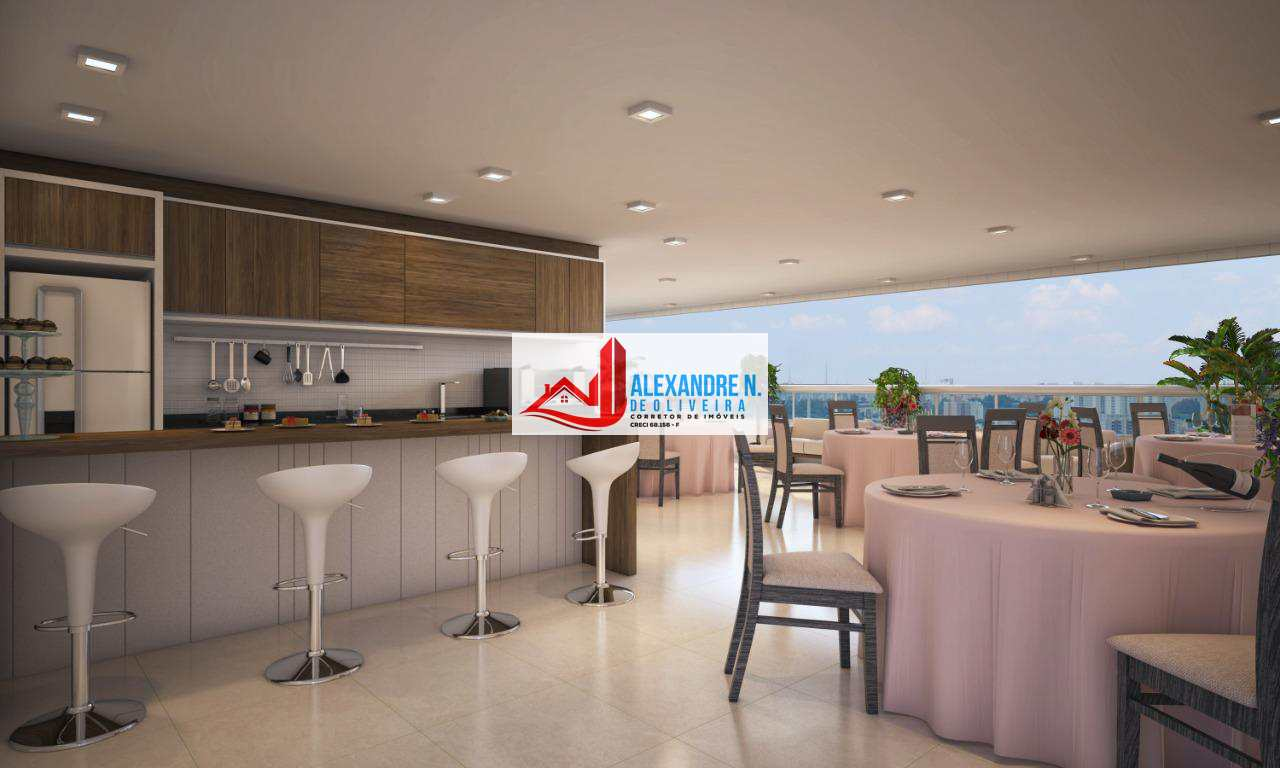 Apto 3 dorms, Caiçara, Praia Grande, Entr. R$ 86 mil, AP00512