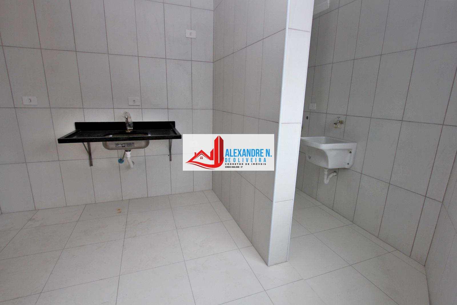 Vista-mar, 2 dorms, Praia Grande, Entr. R$ 80 mil, AP00516.