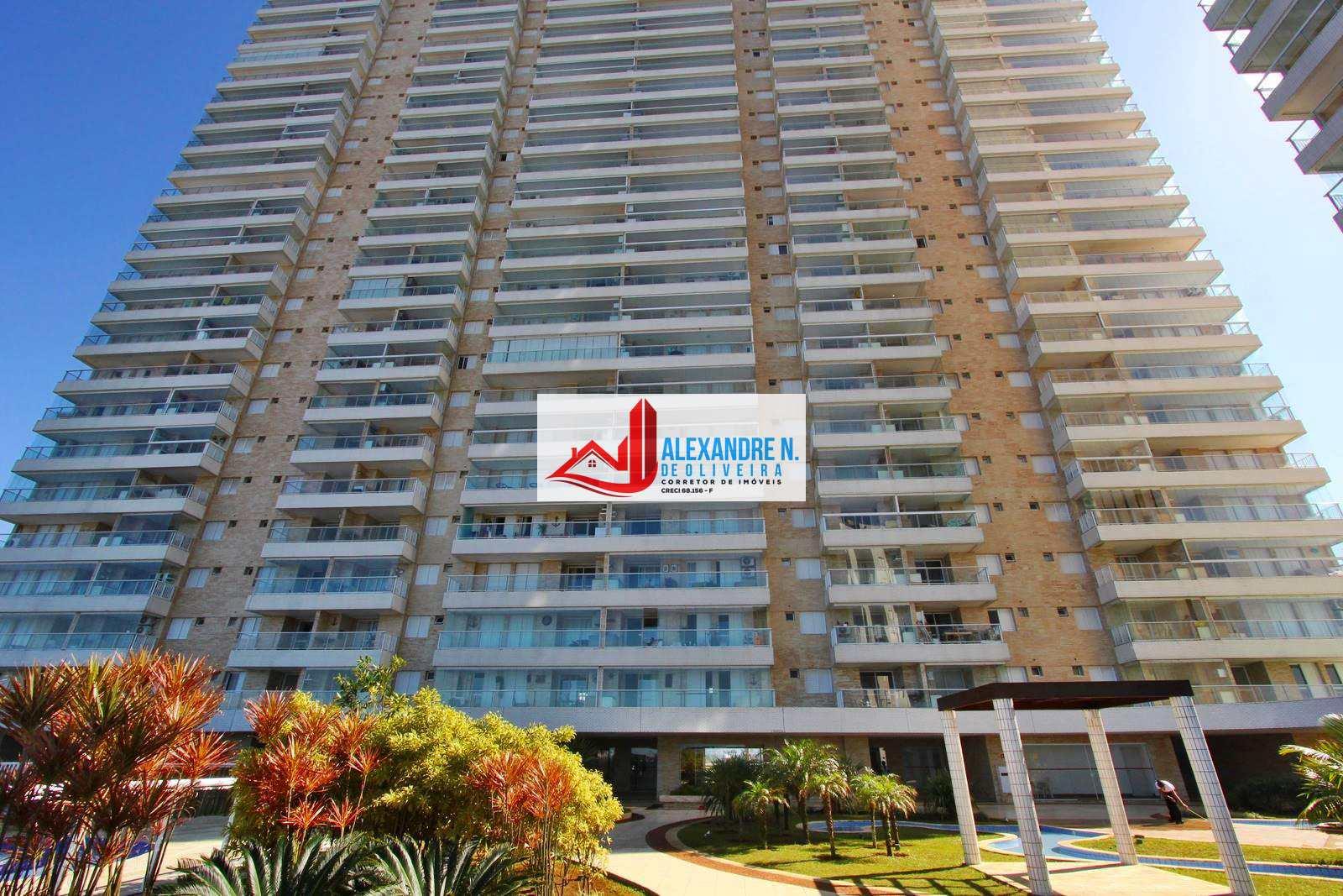 Frente-mar, 3 dorms, Mirim, Praia Grande, R$ 530 mil, AP00307