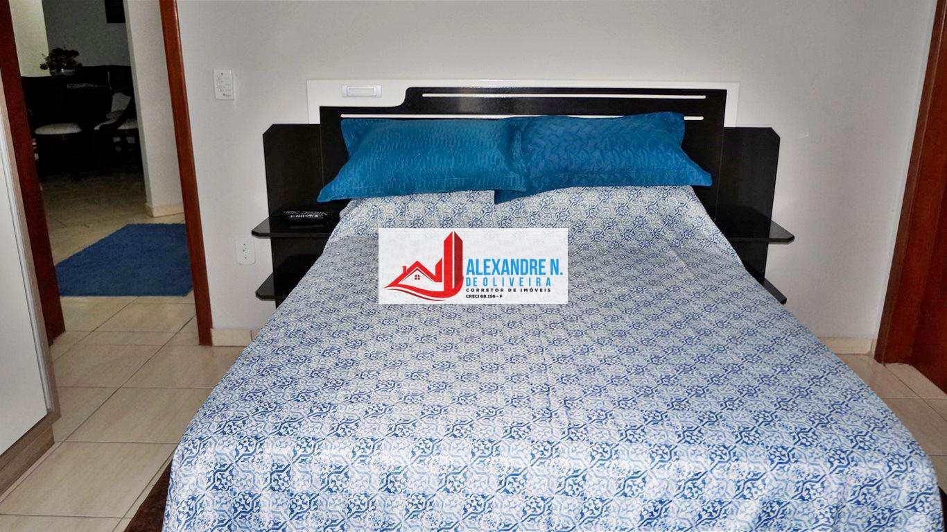 Vista mar, 3 dorms, Ocian, Praia Grande, R$ 550 mil, AP00446