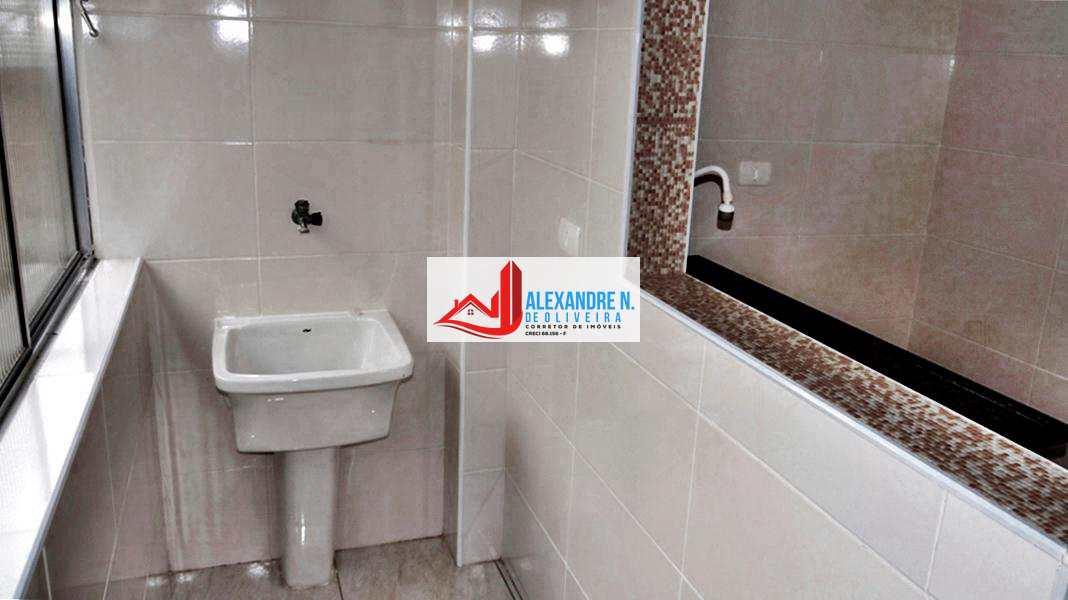 Apto 2 dorms, Guilhermina, Praia Grande - R$ 180 mil - AP00396