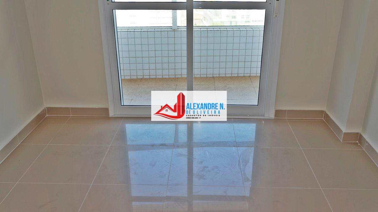 Apto 3 dorms, Aviaçao, Praia Grande, Entr. R$ 149 mil, AP00012