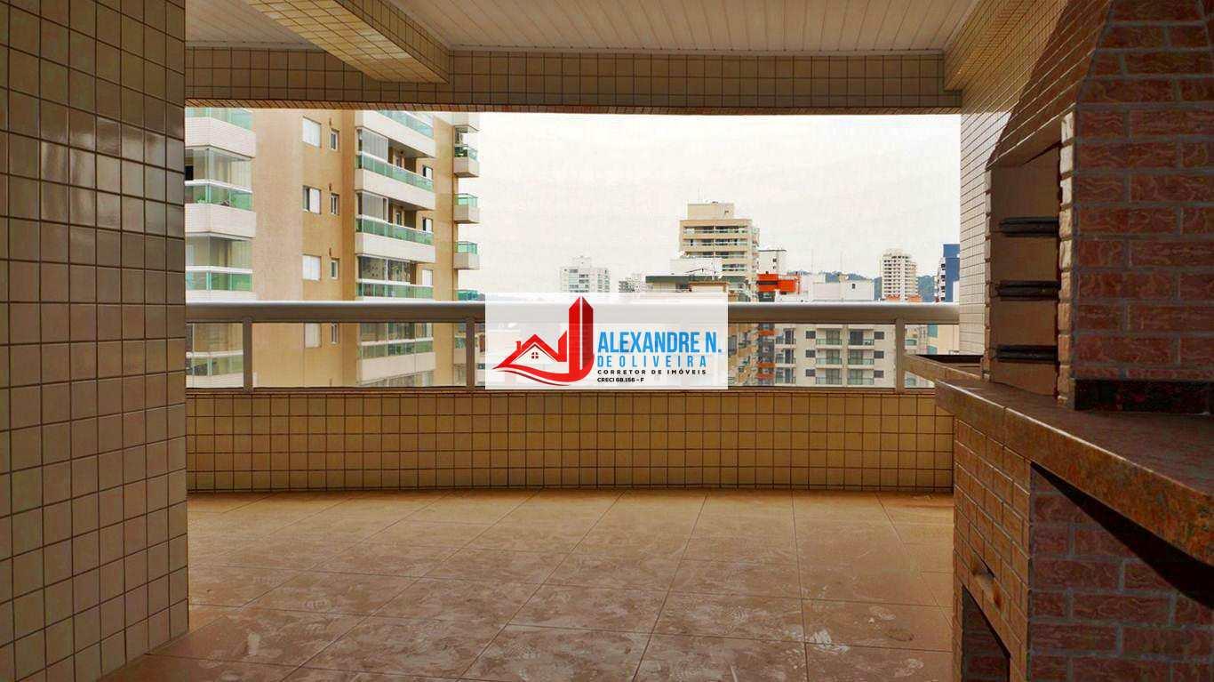 Alto Padrão, 3 dorms, Forte, Praia Grande, R$ 621 mil, AP00269