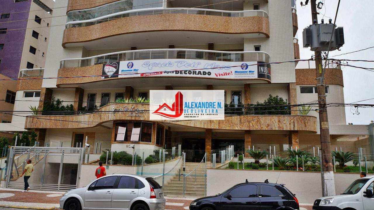 Alto Padrão, 3 dorms, Forte, Praia Grande - R$ 618 mil, AP00268