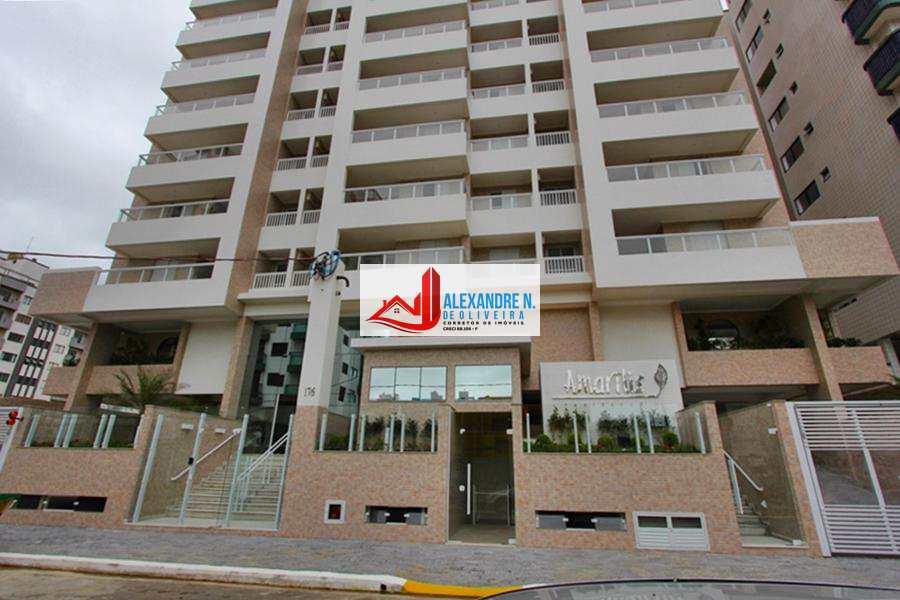 Apto 2 dorms, Ocian, Praia Grande, Entr. R$ 96 mil, AP00017.