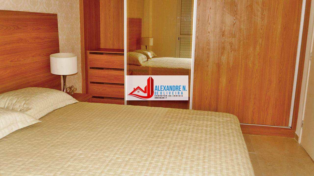 Vista mar, 3 dorms, Ocian, Praia Grande - R$ 419 mil, AP00011