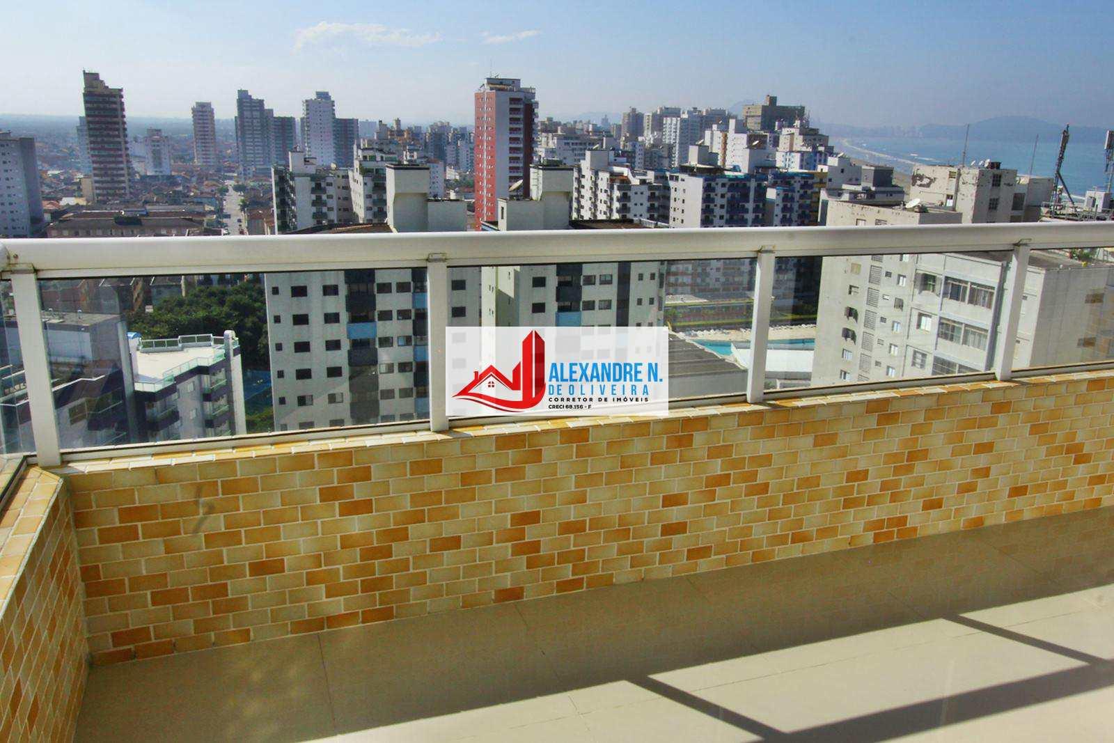 Cobertura 3 dorms, Ocian, Praia Grande - R$ 800 mil, COB00002