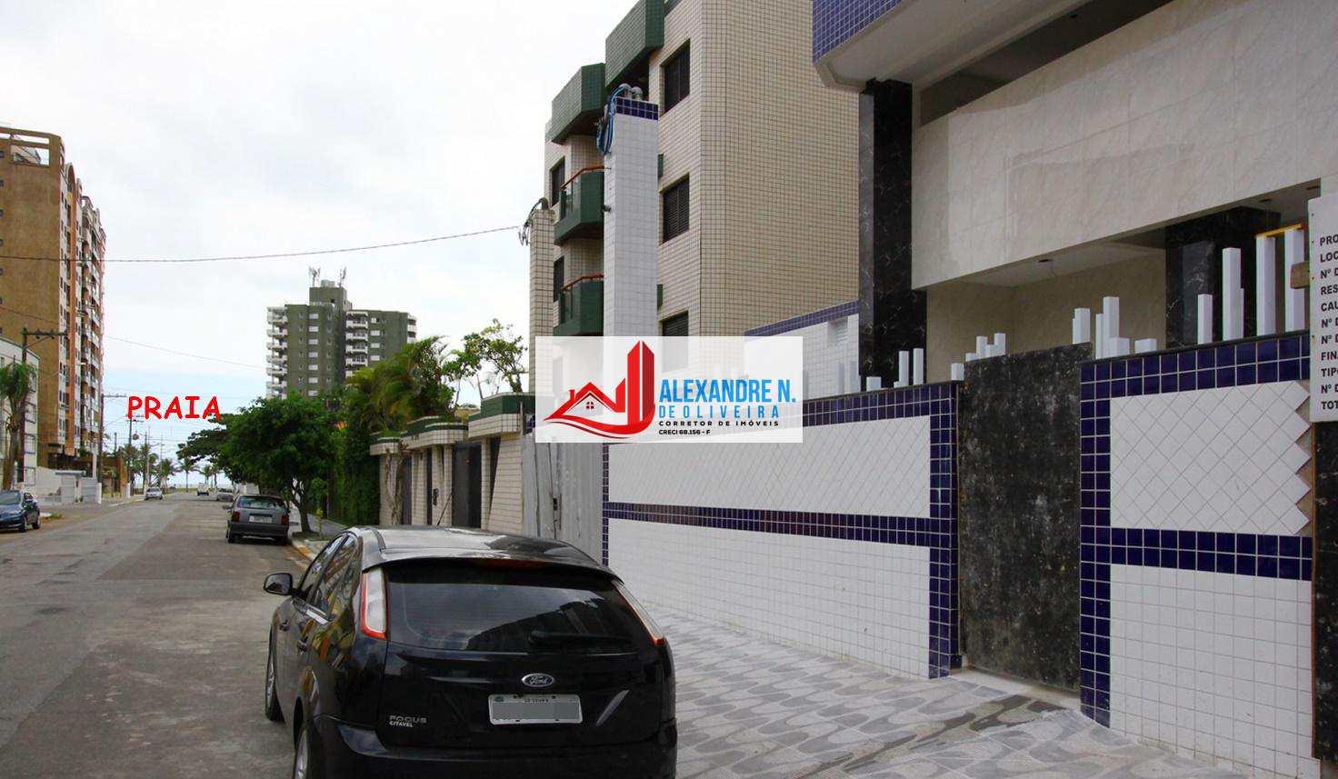 Apartamento 1 dorm, Caiçara, Praia Grande - R$ 282 mil, AP00440