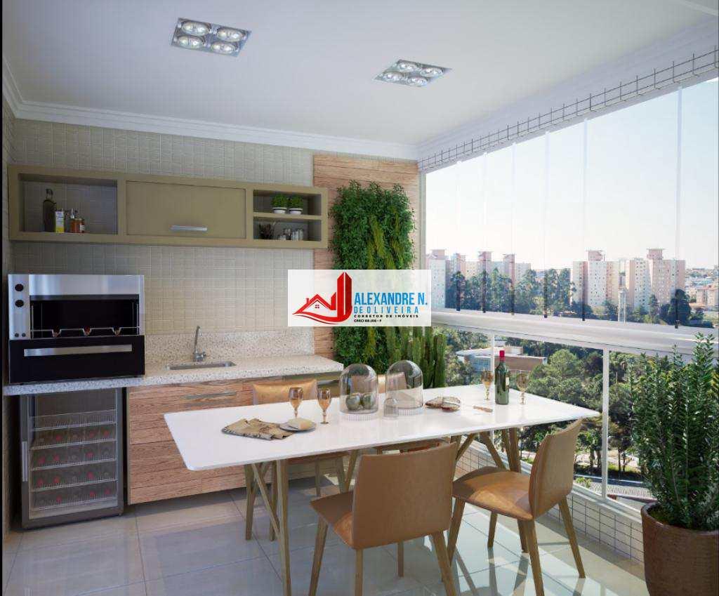 Alto Padrão, 2 dorms, Centro, Praia Grande, R$ 623 mil, AP00398