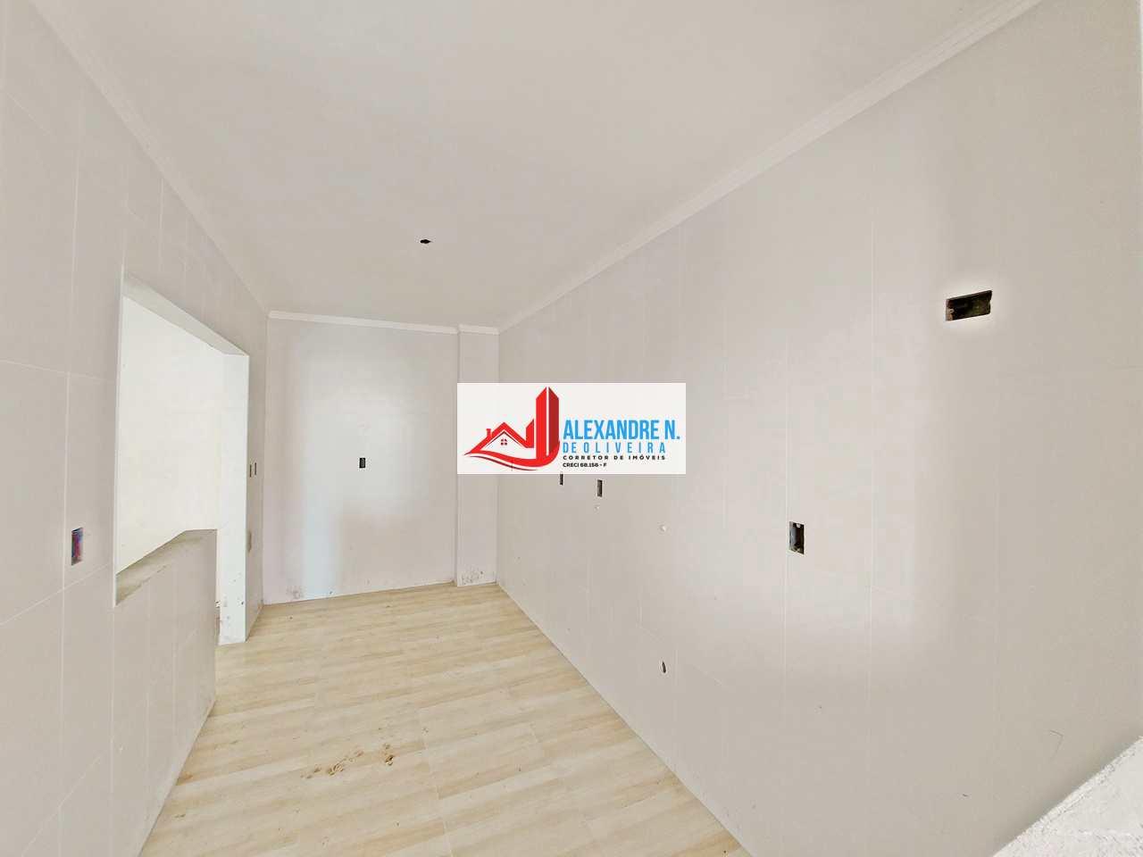 Apto 3 dorms, Caiçara, Praia Grande, Entr. R$ 50 mil, AP00528