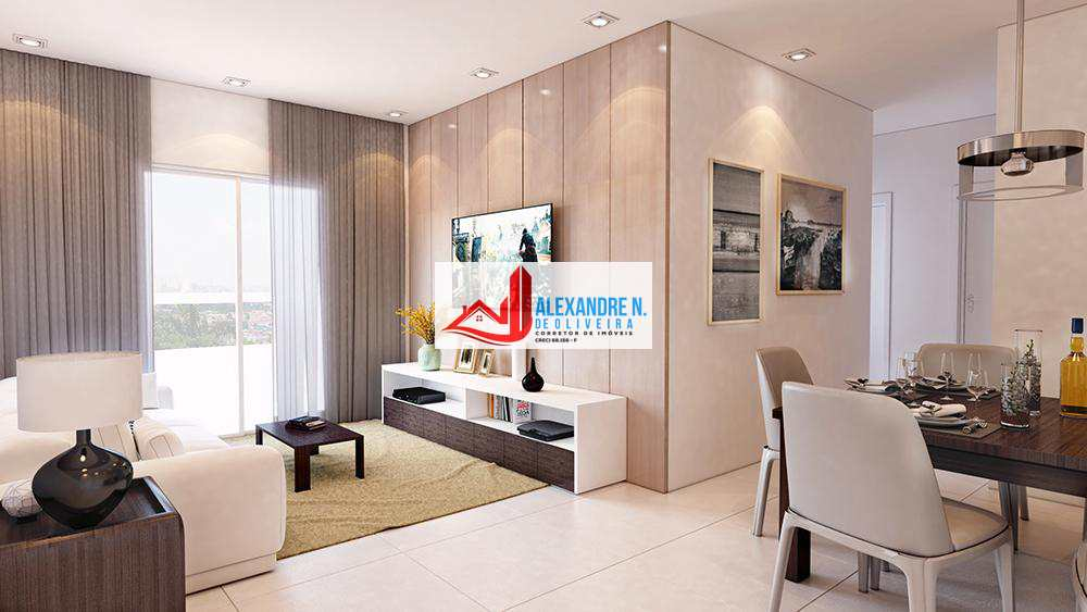 Apto 2 dorms, Caiçara, Praia Grande, Entr. R$ 45 mil, AP00529