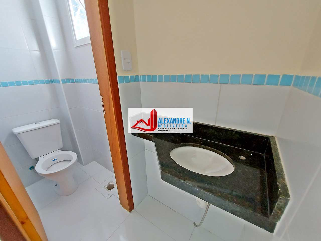 Apto 2 dorms, Caiçara, Praia Grande, Entr. 90 mil, AP00578