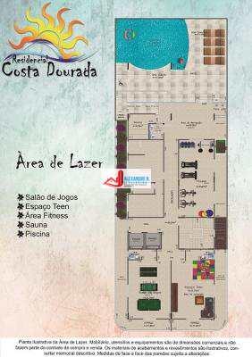 Apto 2 dorms, Caiçara, Praia Grande, Entr. 34 mil, AP00578