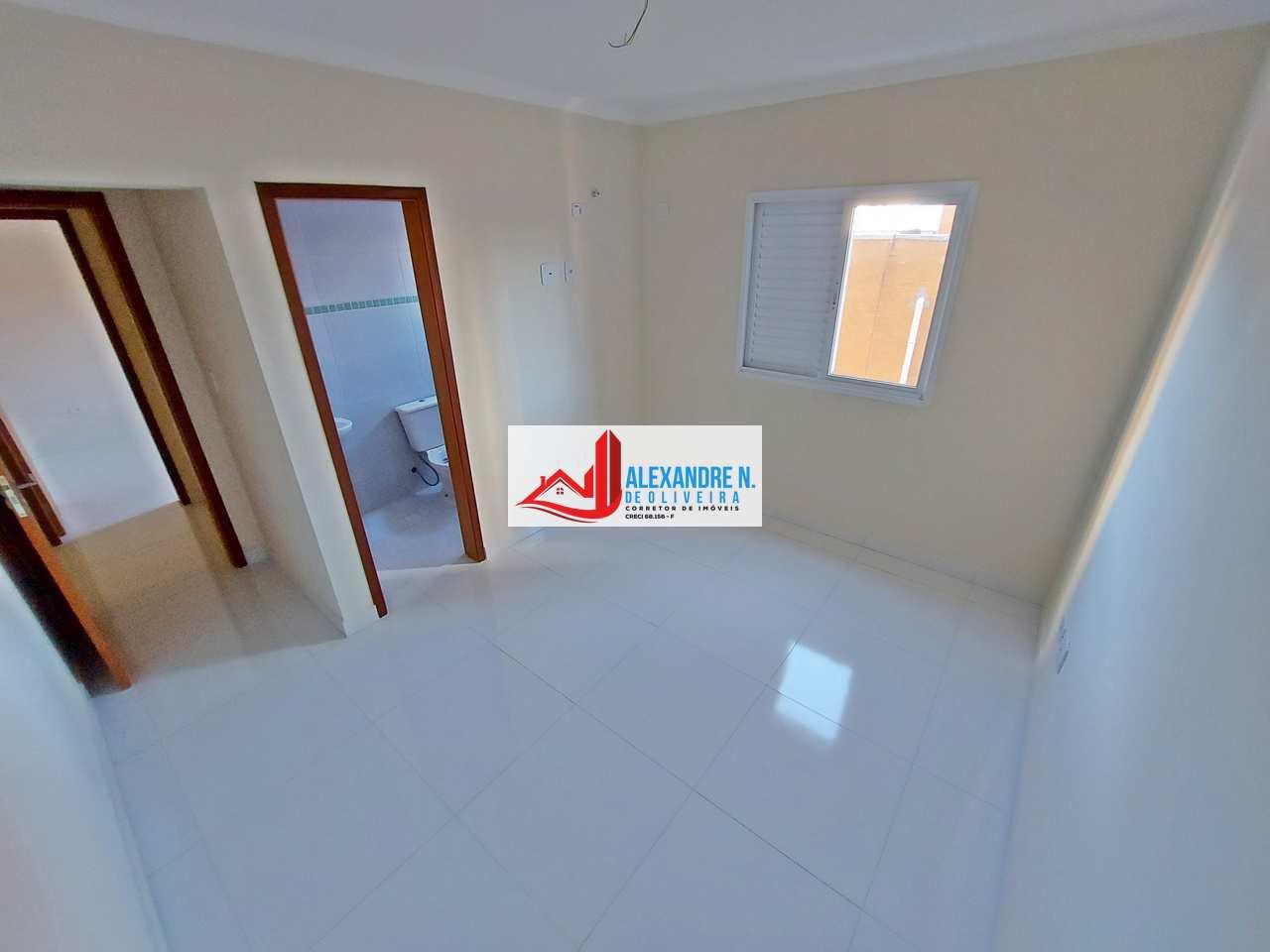 Apto 2 dorm, Caiçara, Praia Grande, Entr. R$ 76 mil, AP00531