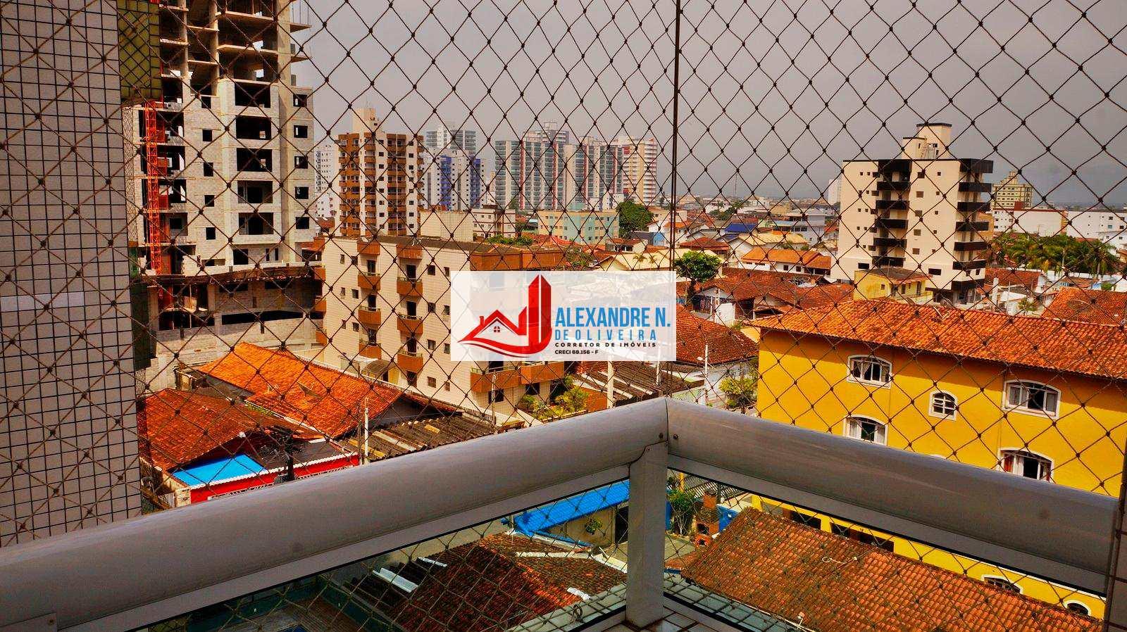 Apto 1 dorm, sacada gourmet, Praia Grande - R$ 195 mil, AP00300