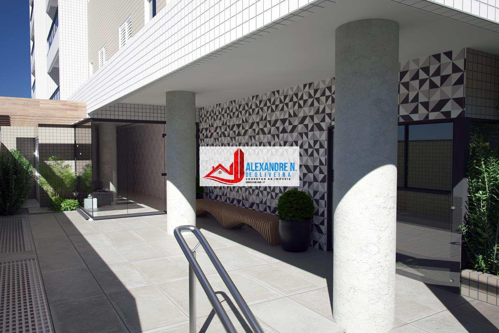 Apto 1 dorm, Ocian, Praia Grande, Entr. R$ 14 mil, AP00020