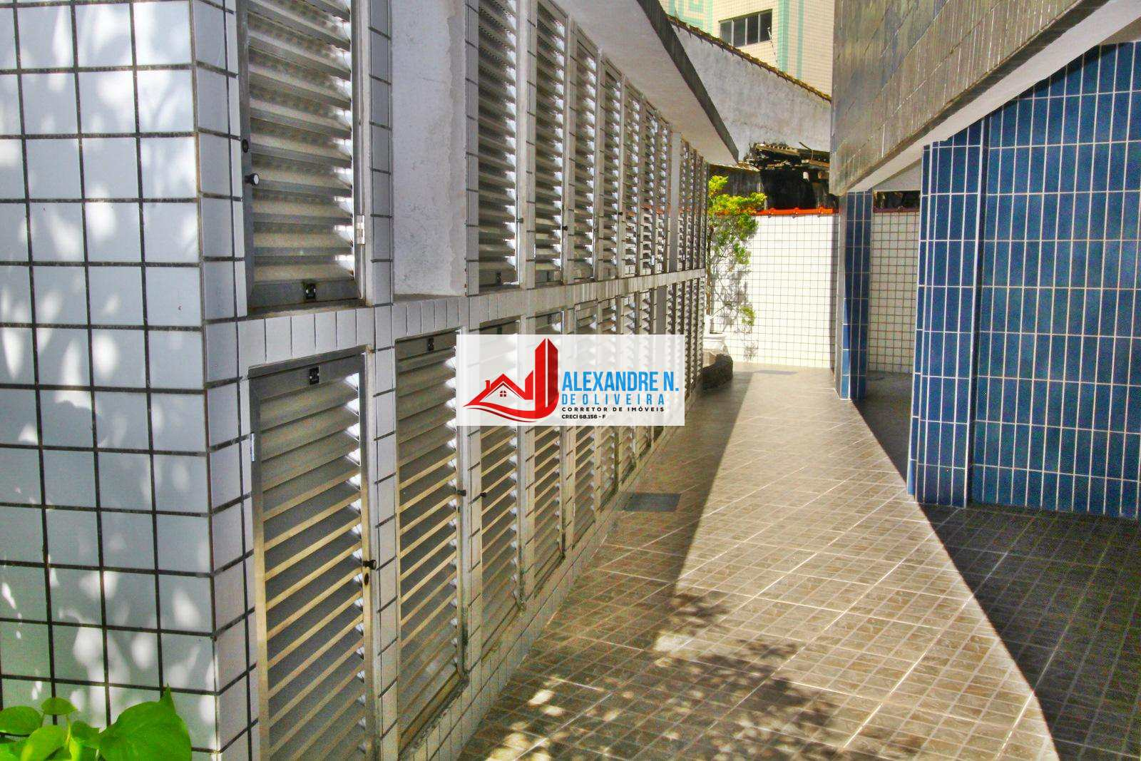 Apartamento 1 dorm, Caiçara, Praia Grande - R$ 158 mil, AP00539