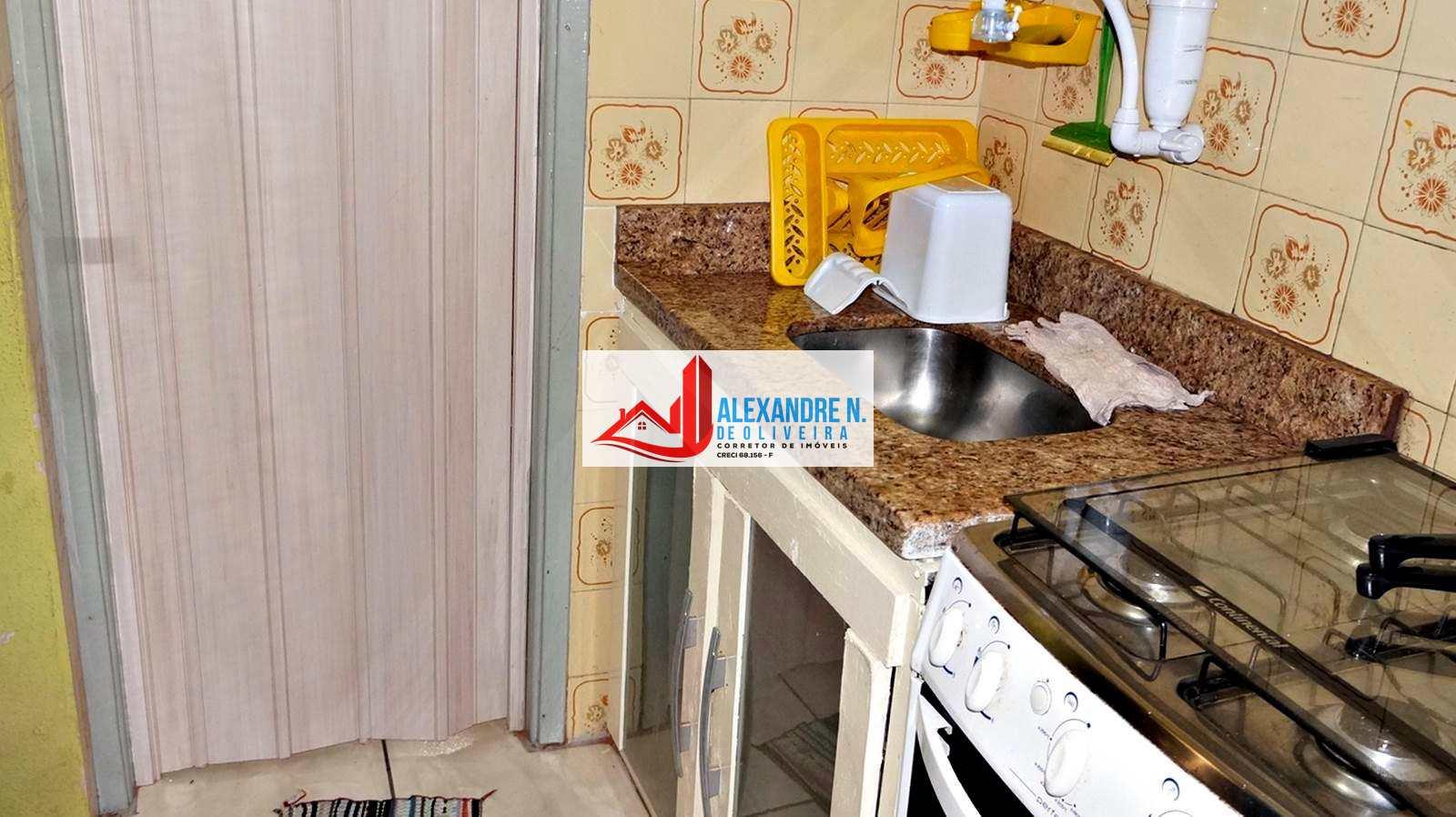 Kitnet com 1 dorm, Ocian, Praia Grande - R$ 75 mil, Cod: KT00001