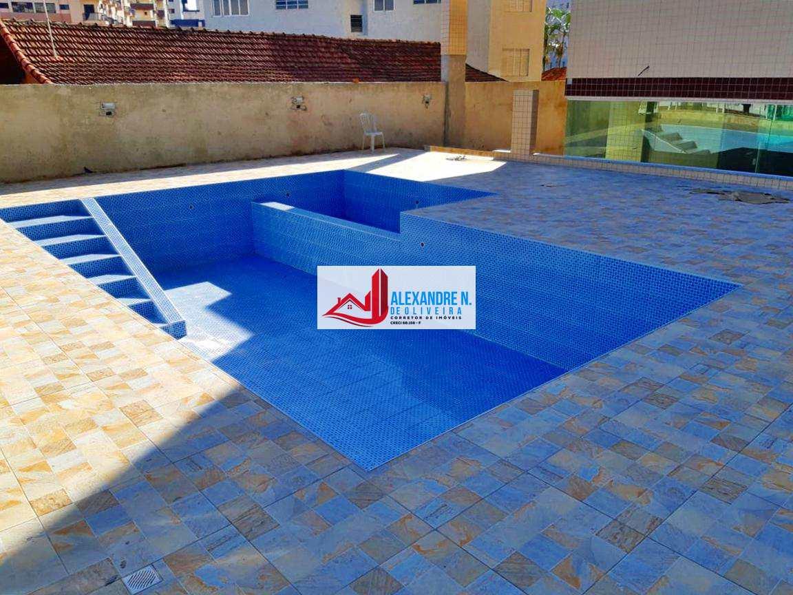 Apto 2 dorms, Ocian, Praia Grande, Entr. R$ 82 mil, AP00535.