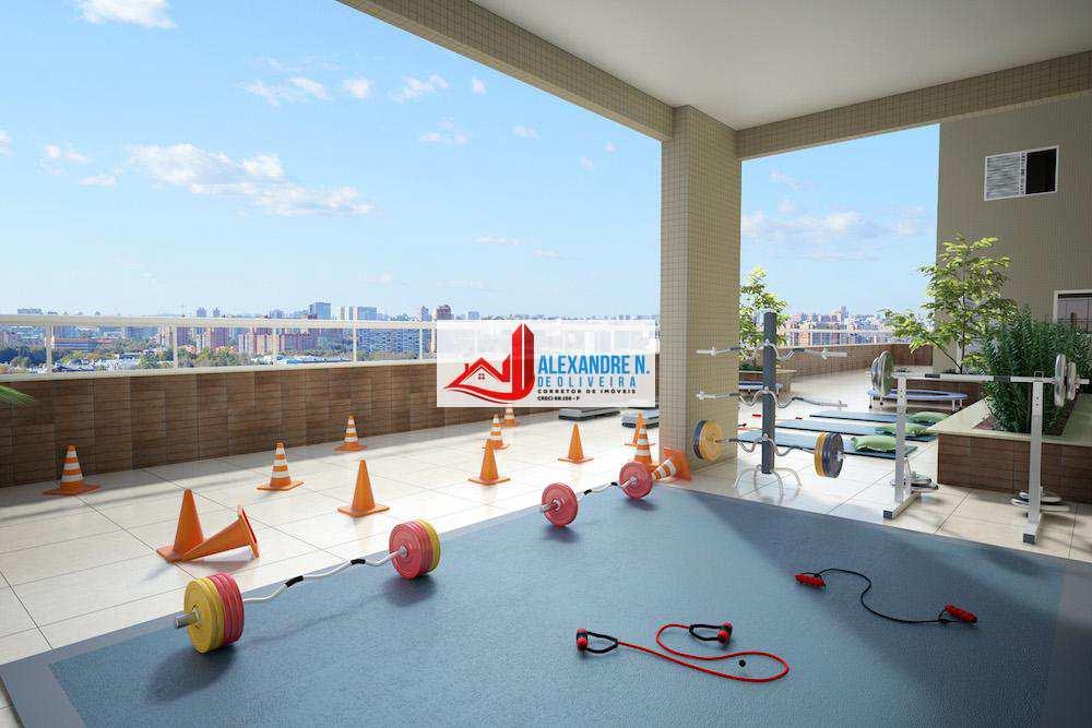 Apartamento com 1 dorm, Caiçara, Praia Grande - R$ 263 mil, Cod: AP00541