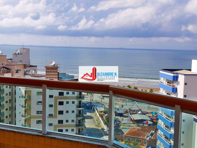 Apartamento 3 dorms, Ocian, Praia Grande - R$ 545 mil, AP00542