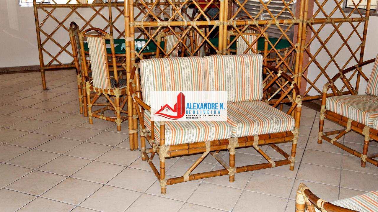 Apartamento 1 dorm, Ocian, Praia Grande - R$ 128 mil, AP00282