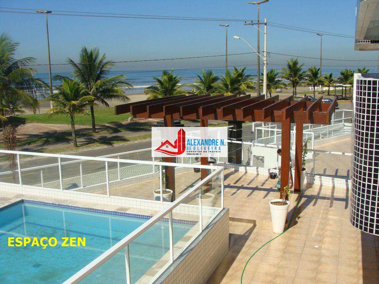 Apartamento com 2 dorms, Mirim, Praia Grande - R$ 330 mil, Cod: AP00546