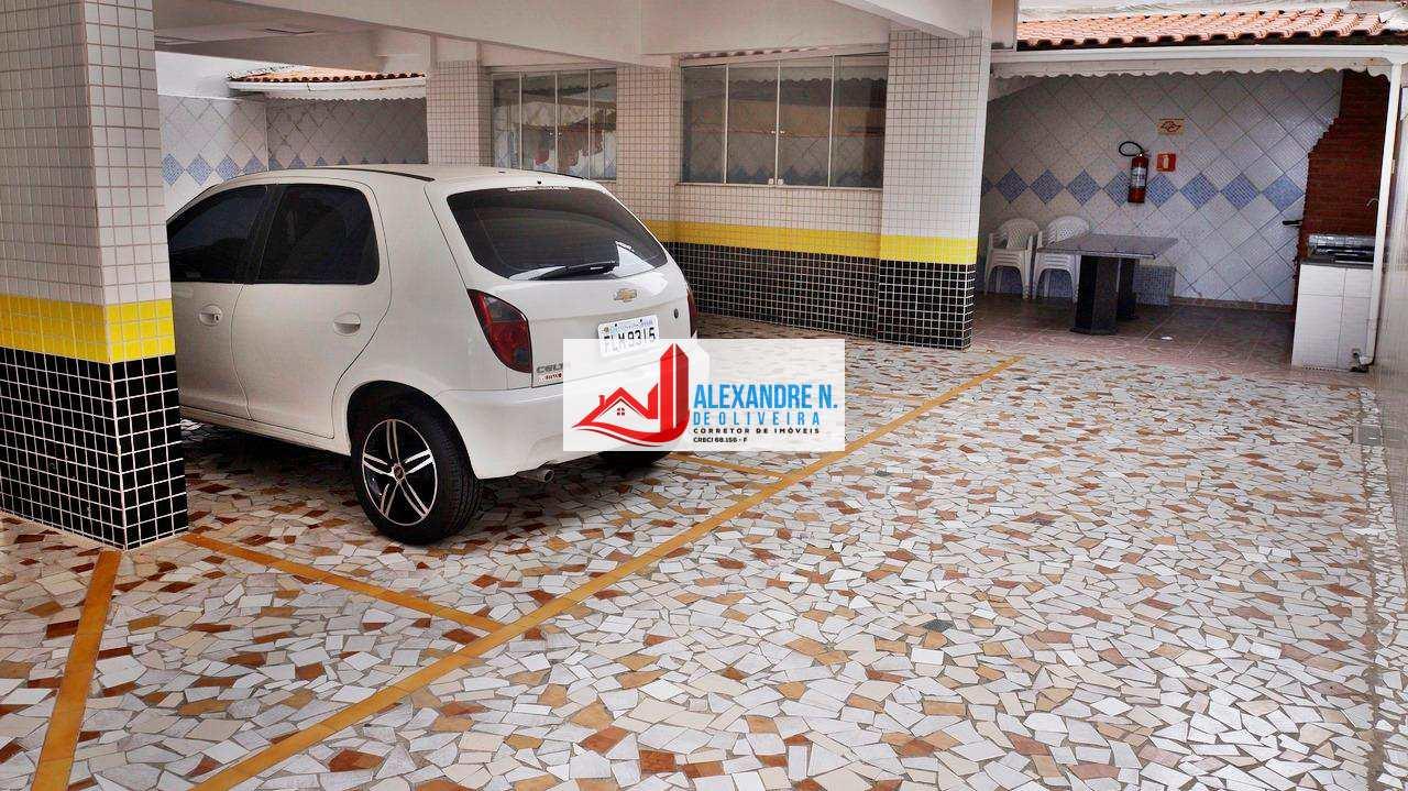 Vista mar, 2 dorms, Ocian, Praia Grande - R$ 220 mil, AP00553
