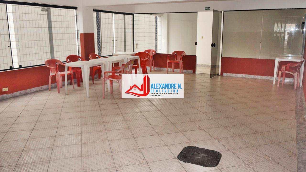 Apto 2 dorms, garagem, Forte, Praia Grande, R$ 175 mil, AP00588