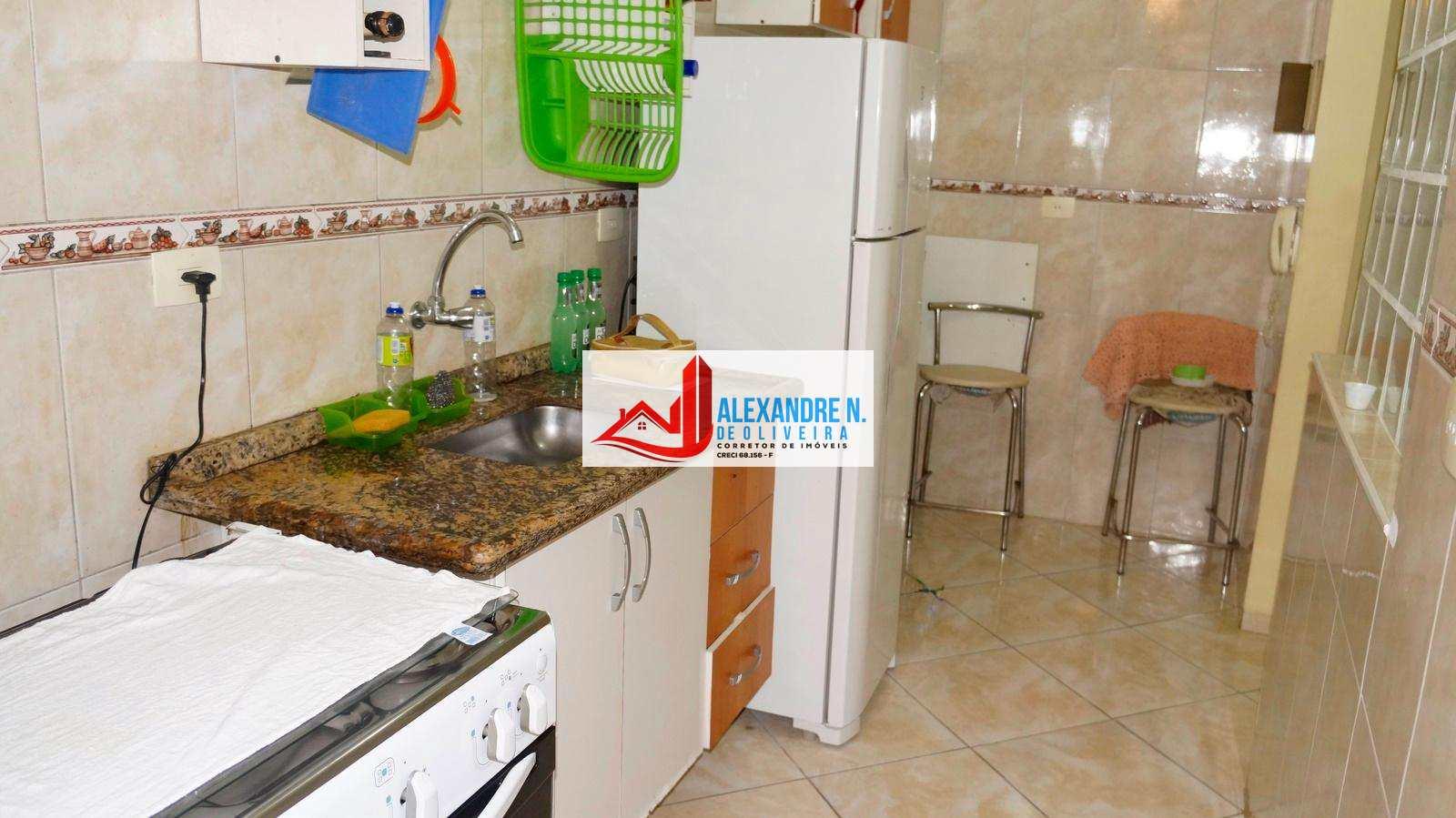 Apartamento com 1 dorm, Mirim, Praia Grande - R$ 170 mil, Cod: AP00591
