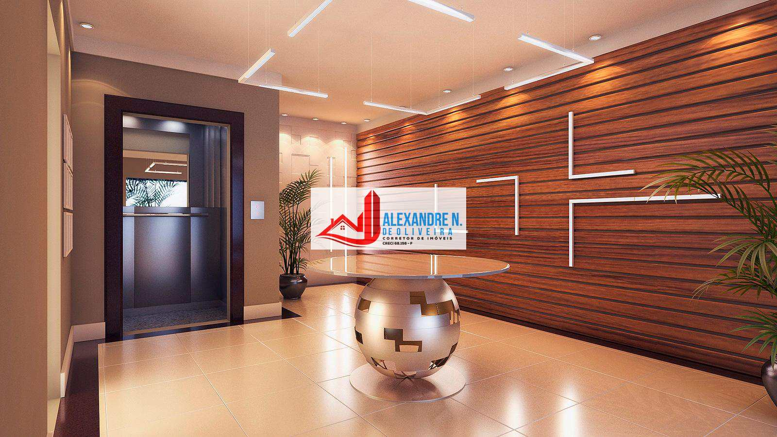 Apto 2 dorms, Ocian, Praia Grande, R$ 295 mil, AP00592