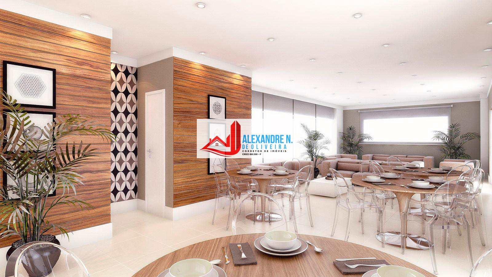 Apto 3 dorms, Ocian, Praia Grande, Entr. R$ 53 mil, AP00593