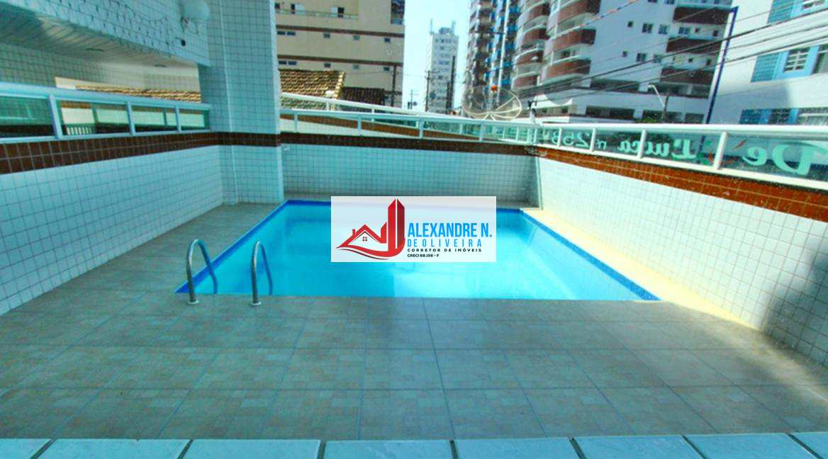 Apto 2 dorms, 2 suítes, Ocian, Praia Grande, R$ 300 mil AP00594