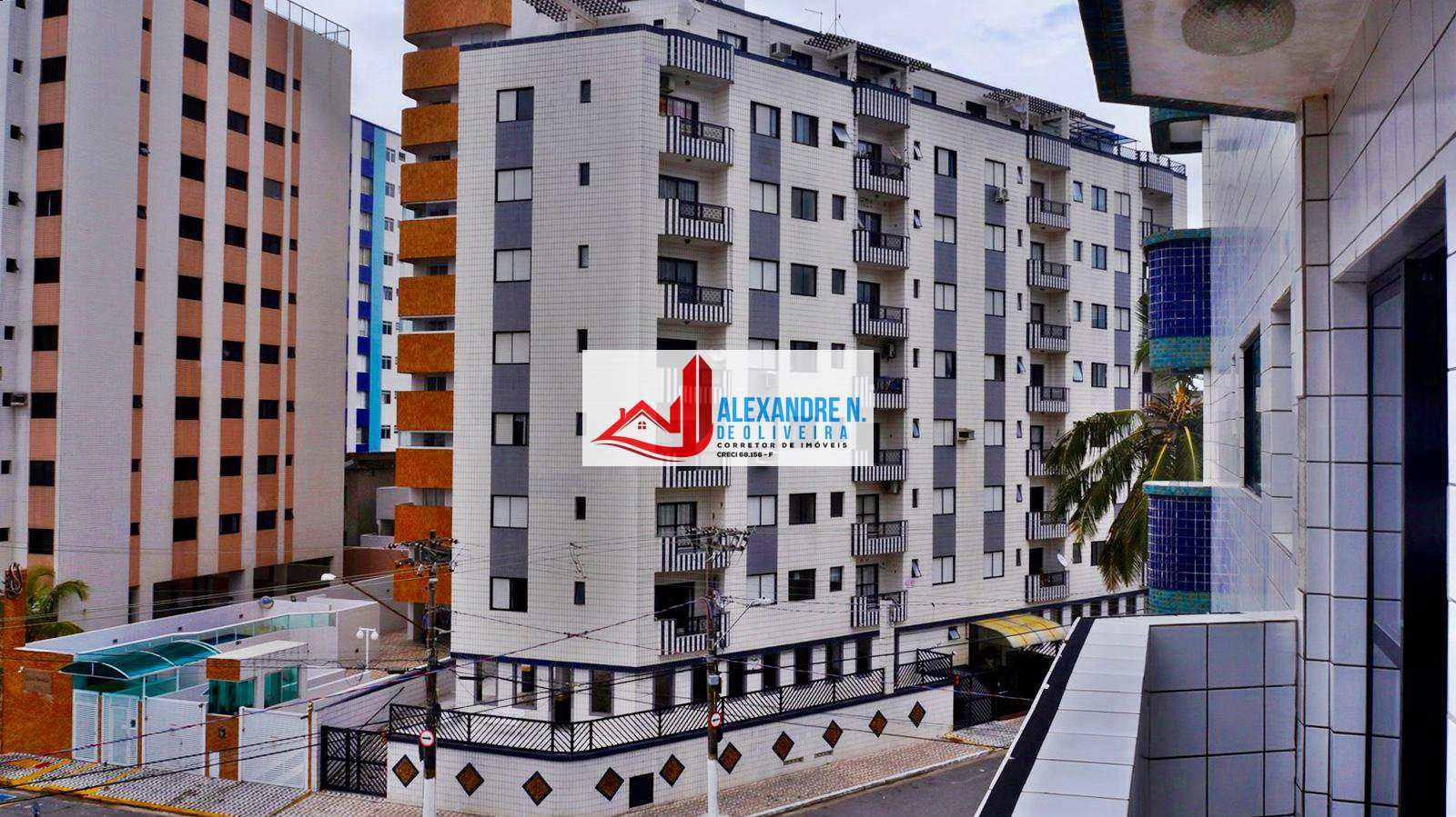 Vista ao mar, 1 dorm, Ocian, Praia Grande, R$ 150 mil, AP00595