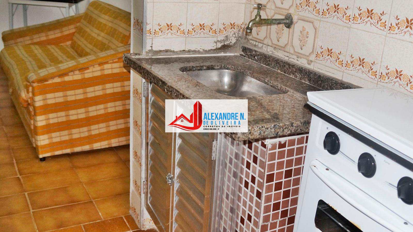 Kitnet, Ocian, Praia Grande - R$ 80 mil, Cod: KT00023