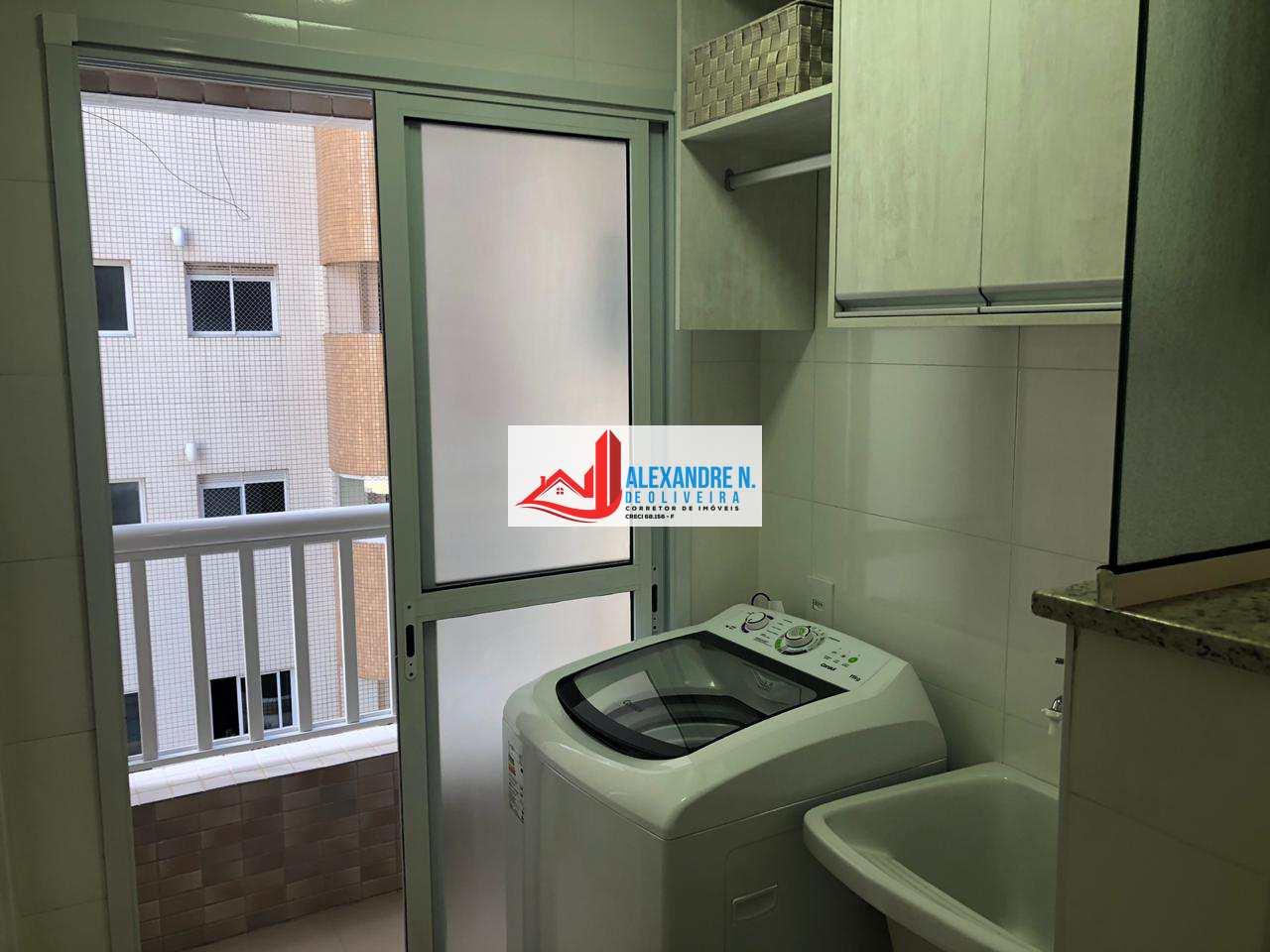 Cobertura 3 dorms, Aviação, Praia Grande - R$ 1.39 mi, CO00008