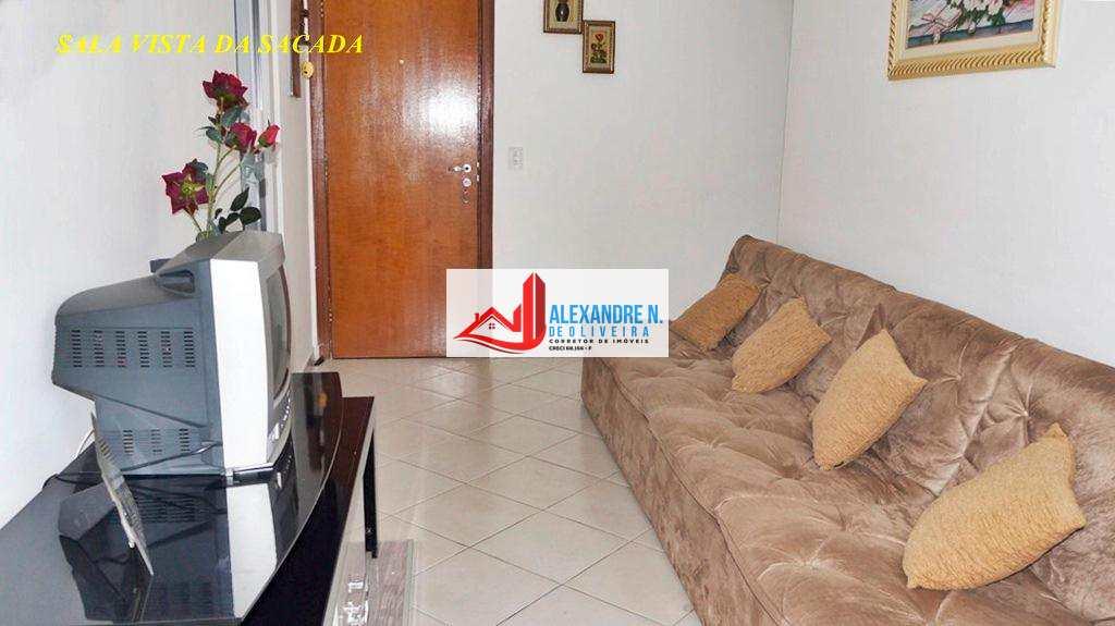 Vista ao mar, 2 dorms, Ocian, Praia Grande, R$ 200 mil, AP00346