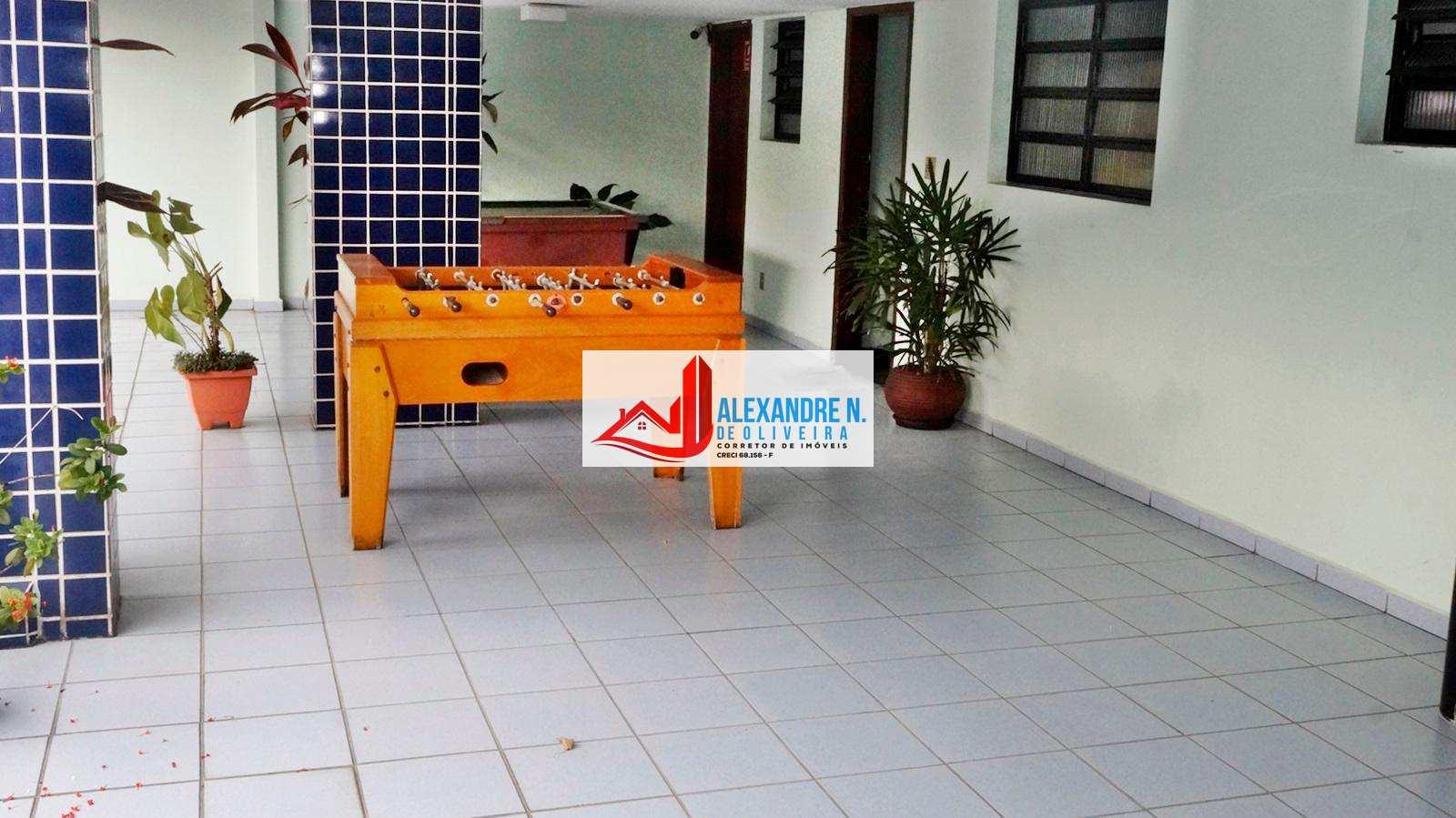 Apto 1 dorm, mobiliado, Ocian, Praia Grande, R$ 150 mil AP00610
