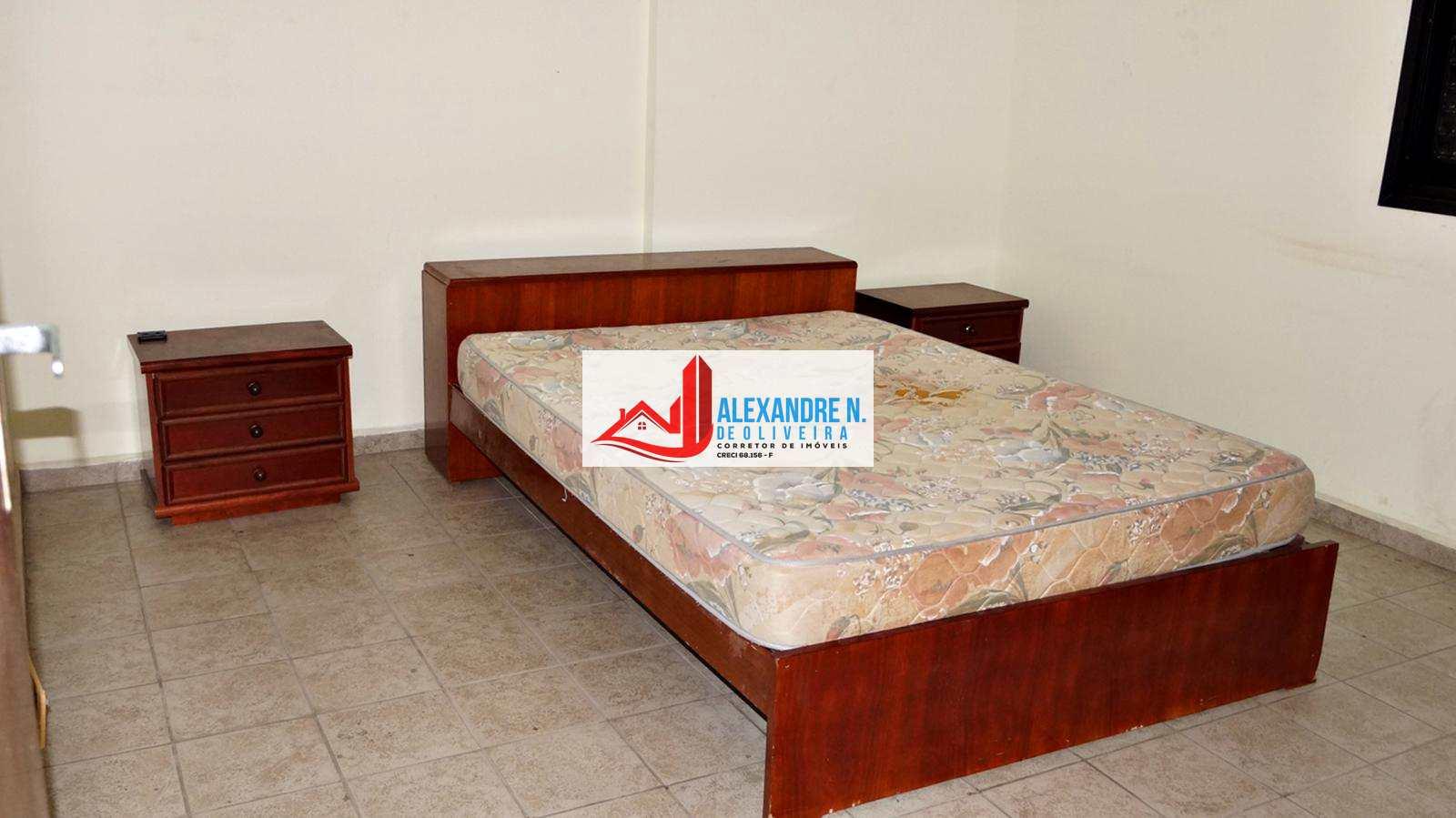 Vista ao mar 3 dorms, mobiliado, Tupi, Praia Grande, AP00612.
