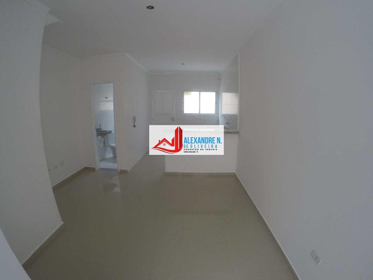 Sobrado novo, 2 dorms, 2 wcs, Praia Grande, R$ 210 mil, SB00007