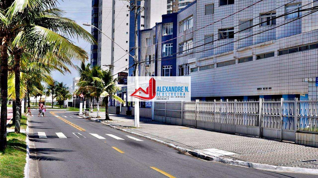 Vista mar, 1 dorm, Mirim, Praia Grande, R$ 140 mil, AP00618