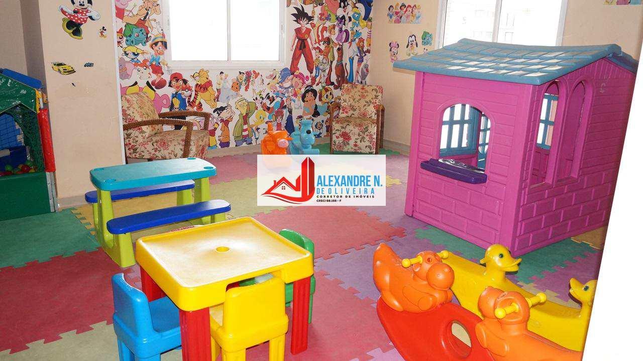 Frente-mar, 4 dorms, Aviação, Praia Grande, R$ 950 mil, AP0062