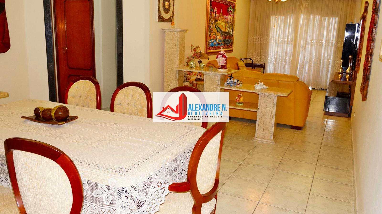 Vista-mar, 3 dorms, Aviação, Praia Grande, R$ 535 mil, AP00621