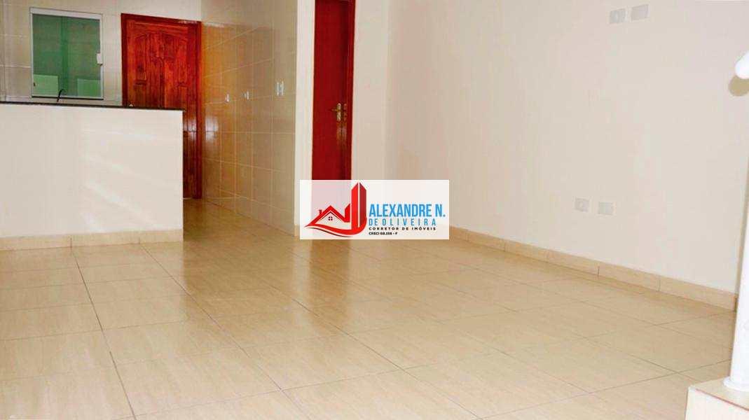 Sobrado Condomínio, 2 dorms, Vila Sônia, Praia Grande, SB00014