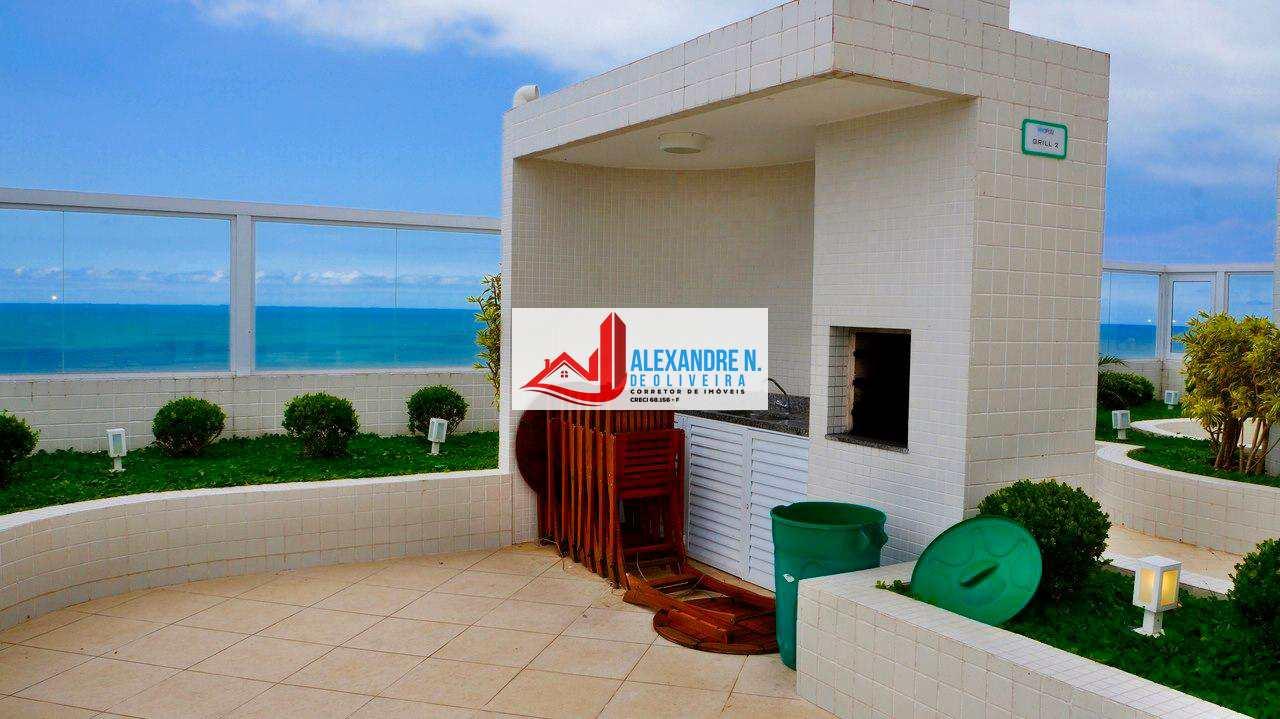 Vista mar, 2 dorms, Ocian, Praia Grande, R$ 340 mil, AP00626
