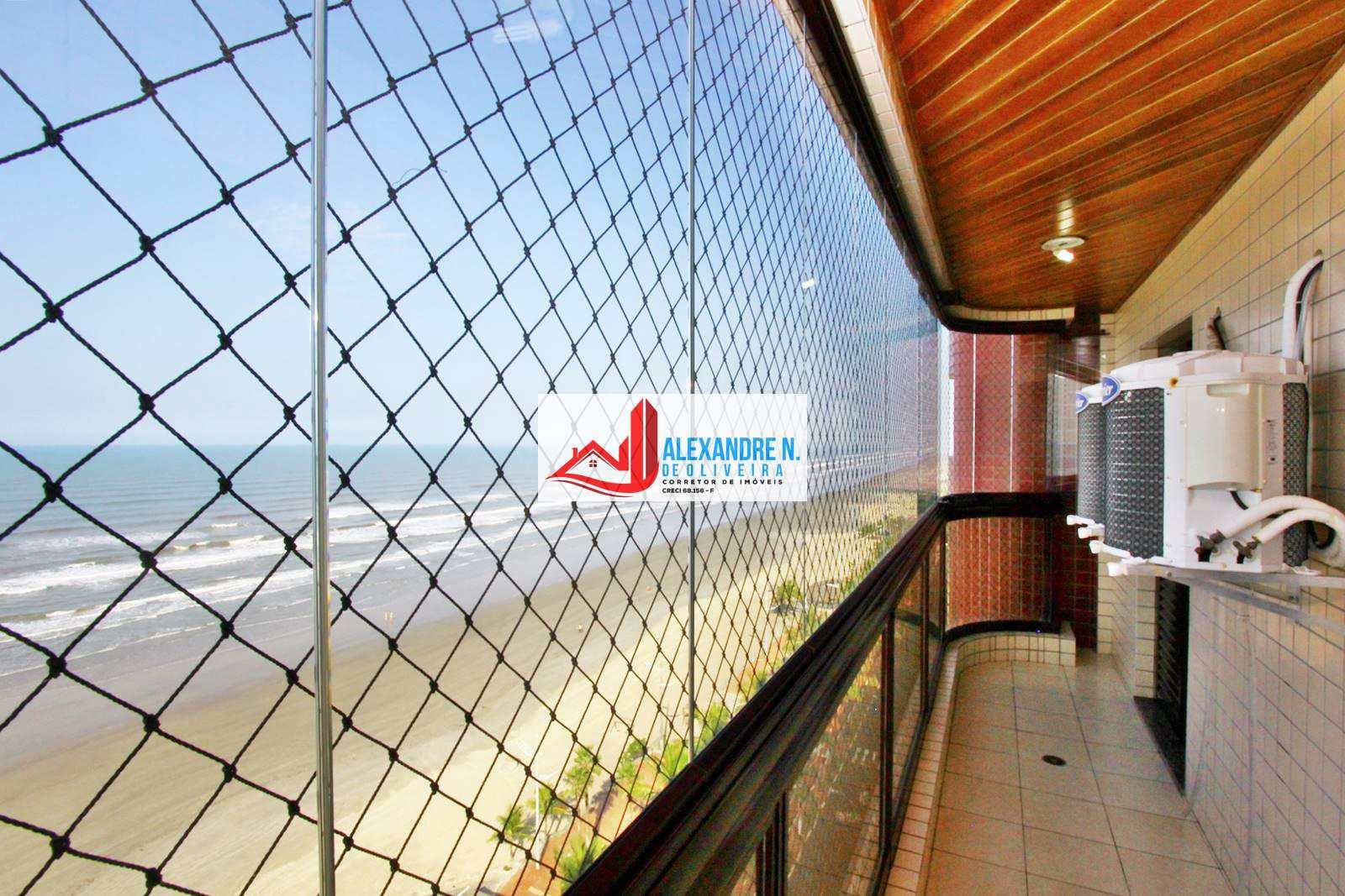 Frente mar, 2 dorms, Caiçara, Praia Grande , R$ 370 mil AP00464