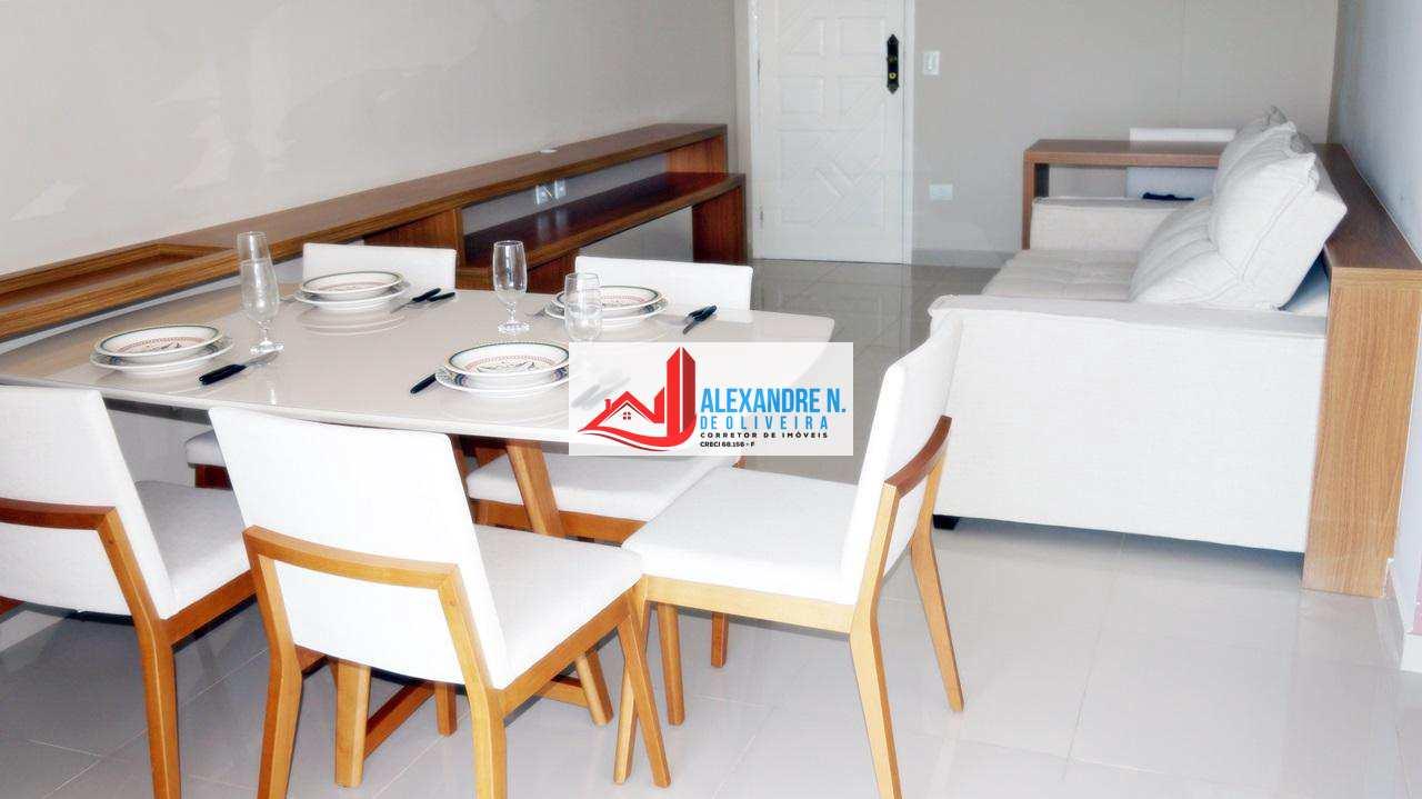 Frente mar, 2 dorms, Ocian, Praia Grande, R$ 380 mil, AP00630