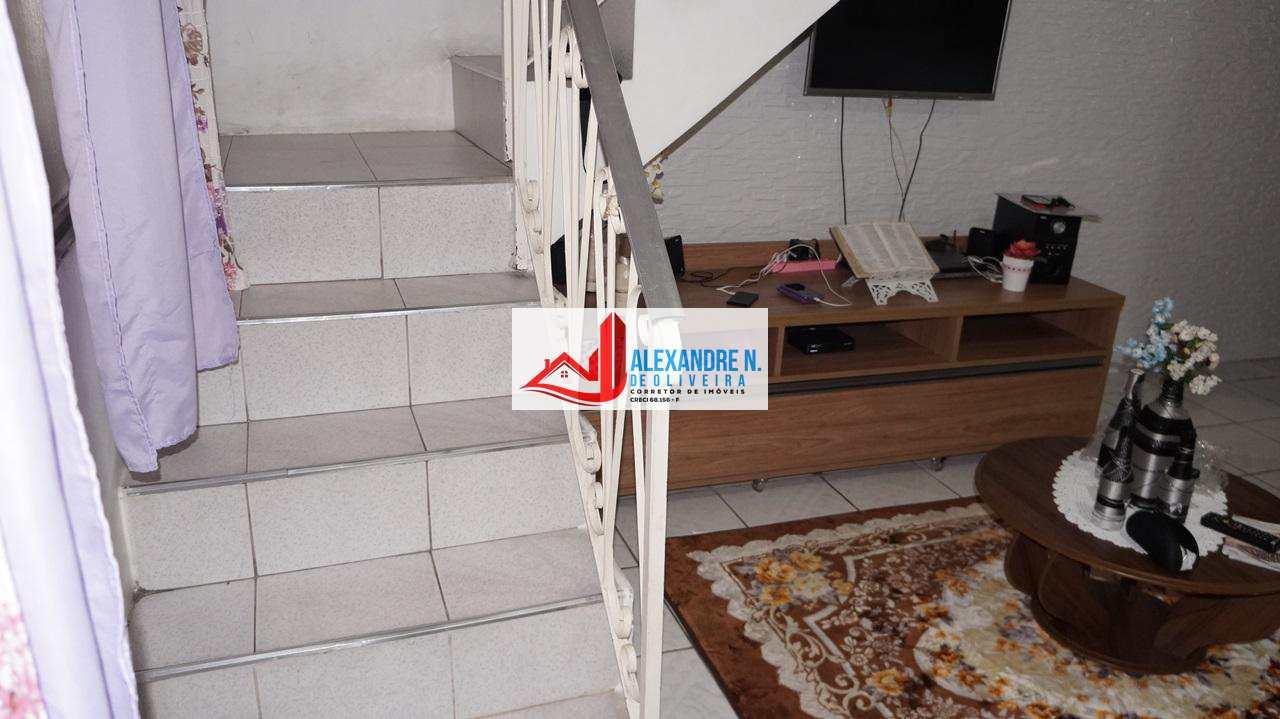 Sobrado 2 dorms, Nova Mirim, Praia Grande, R$ 180 mil, SB00016